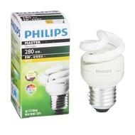 Philips 飛利浦 T2 螺旋省電燈泡5W黃光【愛買】