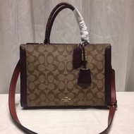 Coach ZOE CARRYALL IN SIGNATURE CANVAS