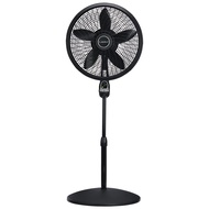 Lasko 1843 18â³ Remote Control Cyclone Pedestal Fan with Built-in Timer, Black Features Oscillating Movement and Adjustable Height