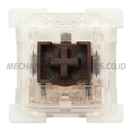Outemu Low-Profile Dustproof Brown SMD RGB Switch (Tactile - Plate Mount)