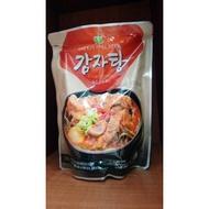 韓國料理~馬鈴薯排骨湯(1000g)