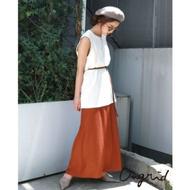 Ungrid 絲綢緞面氣質長裙(3色)