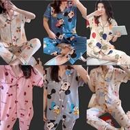PAJAMA SLEEPWEAR sleepwear terno pajama sleepwear pajama set for women's /cotton