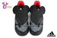 adidas FORTARUN MICKEY 慢跑鞋 小童 輕量 米奇 迪士尼聯名 寶寶運動鞋 Q9371#黑色 奧森
