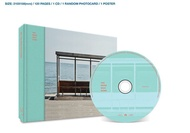 BANGTAN BOYS BTS You Never Walk Alone Left Ver. CD + PHOTOCARD + POSTER IN TUBE