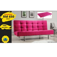 2 IN 1 SOFA BED / 2 IN 1 FOLDABLE SOFA BED / 3 SEATER SOFA BED / FOLDABLE SOFA BED / SOFA LIPAT MURAH [ShopeeChoice]