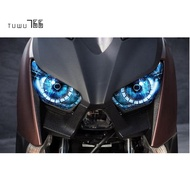 Motorcycle Accessories Headlight Protection Sticker Headlight Sticker for Yamaha Xmax 300 Xmax 250 2017 2018 A