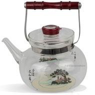 亞美直火泡茶玻璃壺(2000cc)