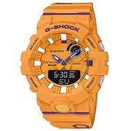 【CASIO】G-SHOCK 突破極限計步藍芽雙顯錶-黃(GBA-800DG-9A)正版宏崑公司貨