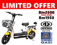 E-Bike / Electric Scooter / Electric Bicycle / Basikal Elektrik / 电动自行车 / 电动脚车 / AZ E-Bike / Cheaper / Murah