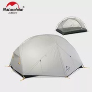 Naturehike Mongar 3 Seasons 20D Nylon Double Layer Campingเต็นท์สำหรับ 2 ท่าน