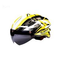 GVR G203V Jump跳躍系列-追風II安全帽(黃色) 附專利磁吸式擋風鏡片[35207197]
