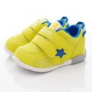 日本Moonstar月星機能童鞋-速乾寶寶鞋款(CRB1208黃-13-14cm)