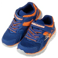 SKECHERS - GO_RUN400海藍橘兒童運動鞋