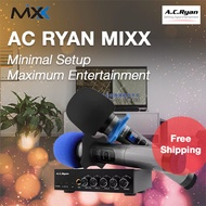 AC Ryan MIXX - BT Karaoke Mixer + 2 Wireless Mics!  Connects to any sound system for KTV!