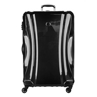 DELSEY Paris Passenger Lite Large Checked Luggage Spinner Suitcase, Black