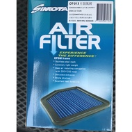 SIMOTA 高流量空氣濾芯 YARIS 10+ WISH 原廠交換型高流量 片裝風網