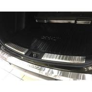 17-18全新CRV5後保桿外置護板 HONDA CR-V 5代不鏽鋼後行李箱護板飾條