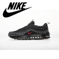 Hot Sale Nike_[unk]air[unk]max[unk]97 Men's Lightweight Sneakers Increase Height Women's Running Shoes Refletive Black 36-45#ar4259-001