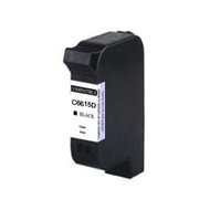 ☆HP 環保墨水匣 C6615D (15) 黑色 適用DJ-810C/840C/845C/920C/948C/DJ3820C/OJ-V40/PSC500/PSC750/PSC950C/OJ511印表機墨水夾