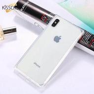 Ốp Lưng KISSCASE Cho iPhone X XS, Ốp TPU Mềm Hình Vuông Siêu Mỏng Nữ Tính Cho iPhone X XS