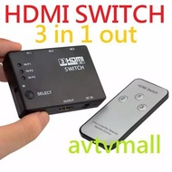 Others - HDMI SWITCH 3 IN 1 OUT 1080P REMOTE 有搖控 切換器