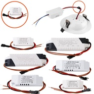 Ranpo AC85-265V LED Constant Driver 1-3W 4-5W 4-7W 8-12W 18-24W 300mA Power Supply Light Transformers for LED Downlight Lighting RP0467-016