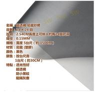 GC01-50 24目5尺寬超透視黑色尼龍網 防微塵尼龍塑膠網 高強度塑膠網 紗門網鋁門網 紗窗網紗網 鋁窗網防塵網