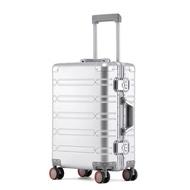 """20 """"นิ้วอลูมิเนียมกระเป๋าเดินทางกระเป๋าเดินทางธุรกิจ24"""" กระเป๋าลากสำหรับเดินทาง"""