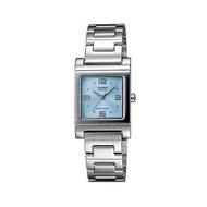 Casio นาฬิกาผู้หญิง สีเงิน สายสแตนเลส รุ่น LTP-1237D-2ADF
