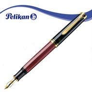 Pelikan 百利金 PL-M400 紅條紋鋼筆