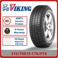 [INSTALLATION] 215/70R15 Viking CT6/PT6 *Year 2020/2021 TYRE (1-7 days delivery)