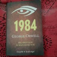 Preloved novel 1984 George Orwell