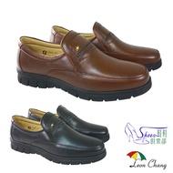 鞋鞋俱樂部 Leon Chang 雨傘牌 真皮休閒紳士皮鞋 170-LAX8428