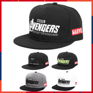 [10.10 lelong ] [Jessica] Marvel Full Cap Black Fashion Full Cap New Style Hip-hop Cap Men's Original Hip-hop Cap Men's Cool Hip-hop Cap Men's Original Baseball Cap