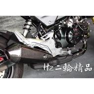 Hz二輪精品 MSX SF 卡夢 碳纖維 排氣管飾蓋 MOS 卡夢排氣管飾蓋 排氣管尾蓋 排氣管側蓋 MSXSF 125