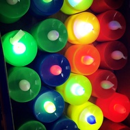 LED candle   With assorted color   Led flameles   Candle  party flickering  tealight Deor candle