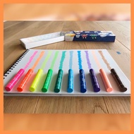 [MBB🇯🇵現貨開發票]日本KOKUYO螢光蠟筆 透明蠟筆 安全蠟筆