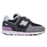 Shoestw【IV574UJA】NEW BALANCE NB574 運動鞋 黏帶 小童鞋 Wide 灰藍淺紫