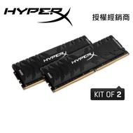 HyperX Predator DDR4 3600 8GB 2支 桌機用超頻記憶體 HX436C17PB4K2/16