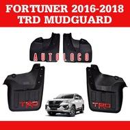 Mudguard for Toyota Fortuner (Fits 2016 2017 2018 2019 2020 2021 Model)