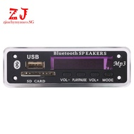 Dc 5V/12V Bluetooth 5.0 Decoder Board Audio Module Usb (Black) ZJS