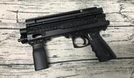 《GTS》鎮暴槍 G3 套組 黑 CO2動力 17MM 送手提槍袋 長槍管 ASG12g氣瓶10瓶 17MM彈100顆