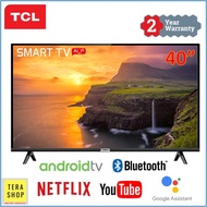 TCL 40S6800 40 Inch Android Smart AI TV  / Google Assistant / Voice Search / Netflix / Youtube / Full HD / HDR