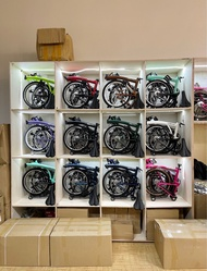 3 sixty /360 folding bike/foldable bicycle/6 speed M bar/Brompton clone