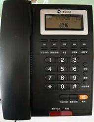 含稅 黑色 TECOM 東訊 AP-3303 來電顯示 類比 單機 電話 總機 也適用 黑白 兩色