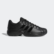 【adidas 愛迪達】籃球鞋 男鞋 運動鞋 緩震 包覆 PRO MODEL 2G LOW 黑 FX7100