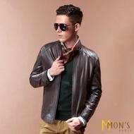 【MON'S】時尚紳士羊皮衣外套(100%羊皮)