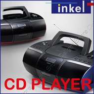 ◆Authentic◆Inkel Korea IP-765 FM CD Radio Player Portable Cd Cassette Players Boombox