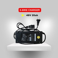 Ebike Charger 48V 20AH for Battery 48volts 3ah, Applicable for Romai, Nwow, Kenwei, Lucky Lion, Kuda